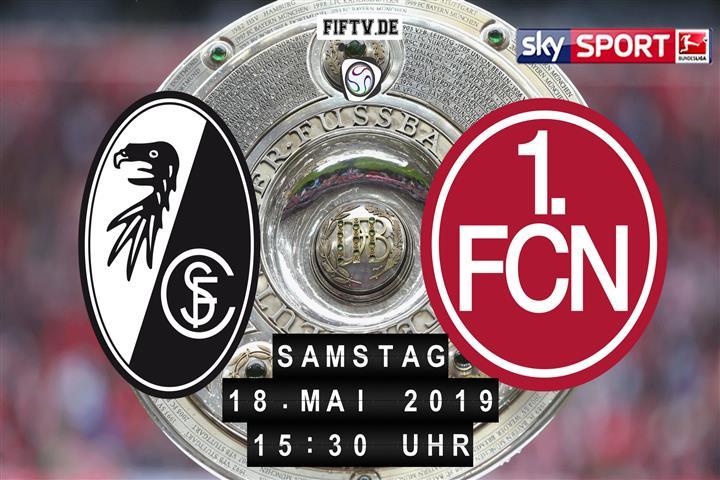 SC Freiburg - 1.FC Nürnberg Spielankündigung