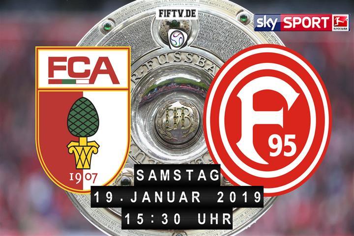 FC Augsburg - Fortuna Düsseldorf Spielankündigung