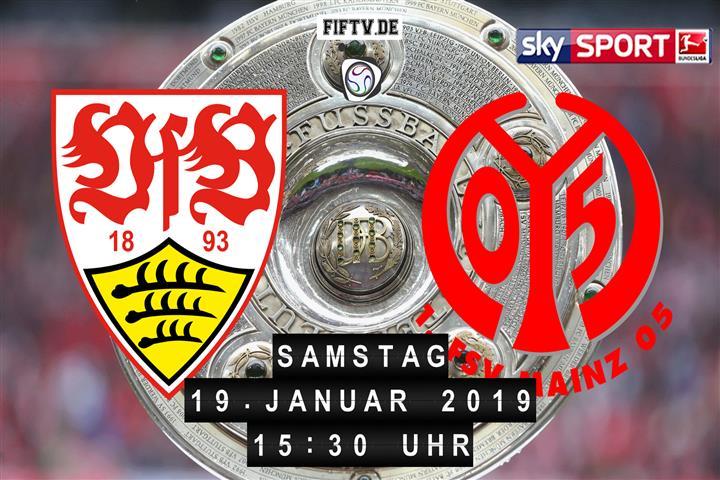 VfB Stuttgart - FSV Mainz 05 Spielankündigung