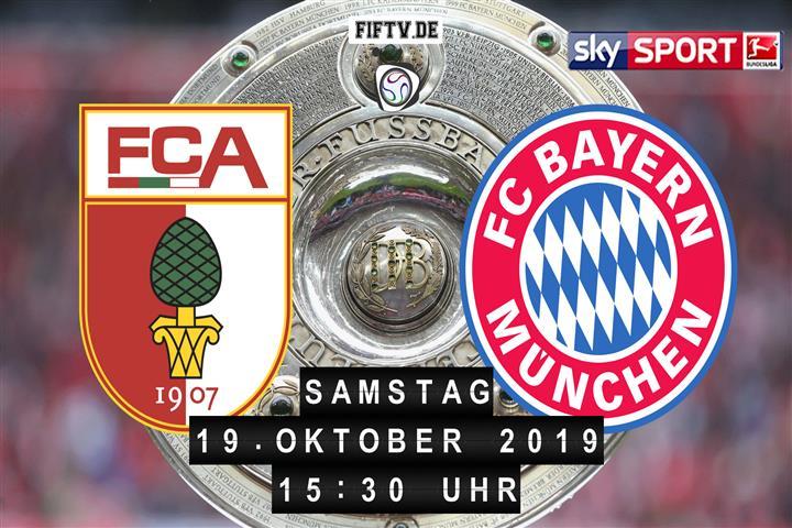 FC Augsburg - Bayern München Spielankündigung