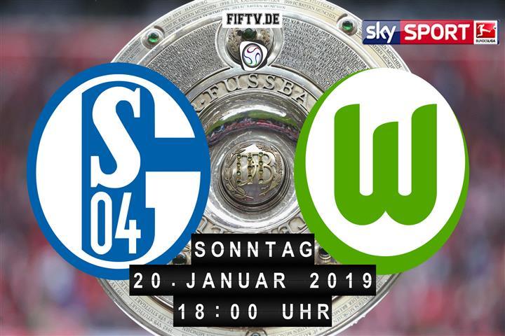 Schalke 04 - VfL Wolfsburg Spielankündigung