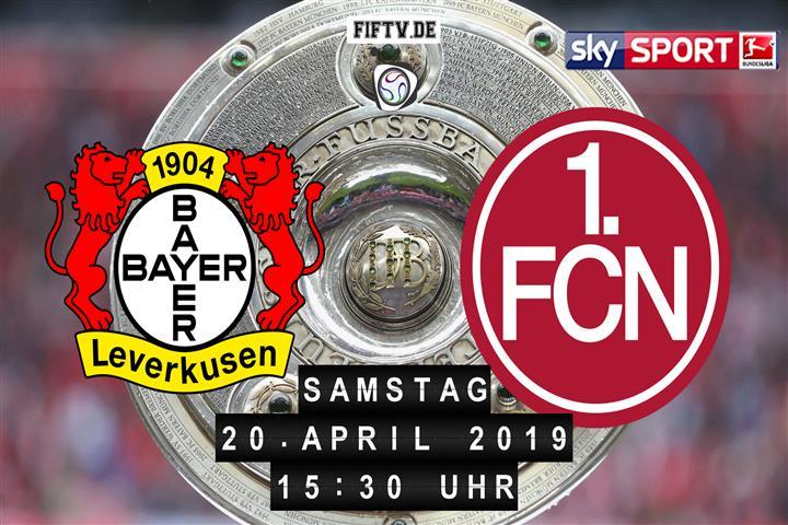 Bayer Leverkusen - 1.FC Nürnberg Spielankündigung