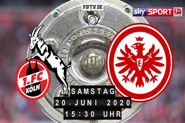 Bundesliga Köln Frankfurt