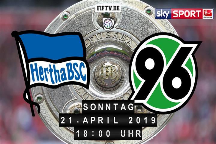 Hertha BSC - Hannover 96 Spielankündigung
