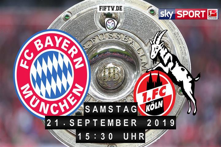 Bayern München - 1.FC Köln Spielankündigung