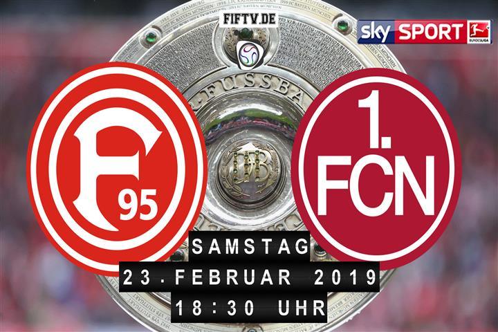 Fortuna Düsseldorf - 1.FC Nürnberg Spielankündigung
