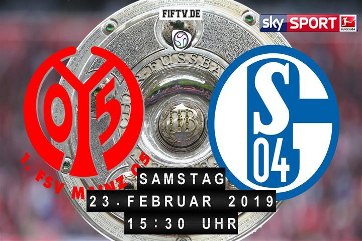 FSV Mainz 05 - Schalke 04 Spielankündigung