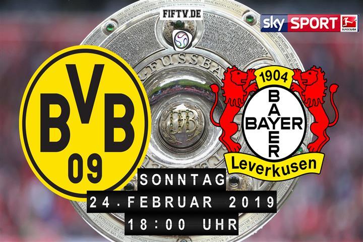 Borussia Dortmund - Bayer Leverkusen Spielankündigung