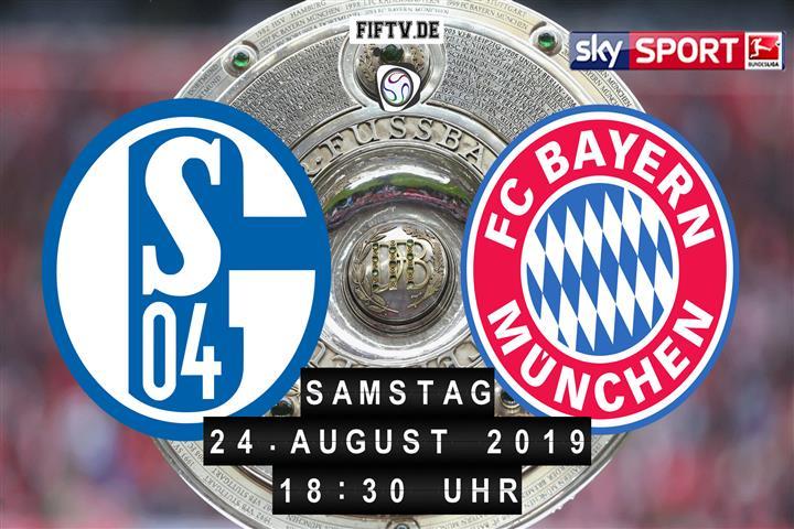 Schalke 04 - Bayern München Spielankündigung
