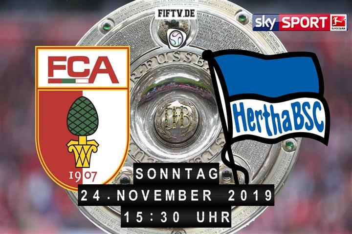FC Augsburg - Hertha BSC Spielankündigung