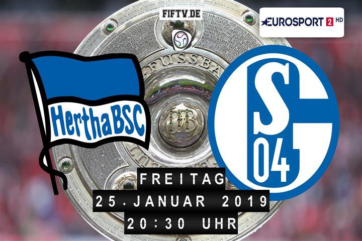Hertha BSC - Schalke 04 Spielankündigung