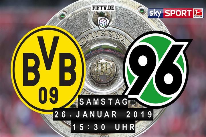 Borussia Dortmund - Hannover 96 Spielankündigung