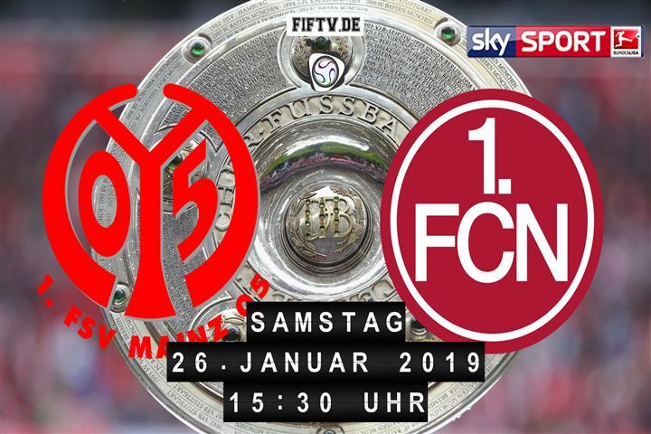 FSV Mainz 05 - 1.FC Nürnberg Spielankündigung
