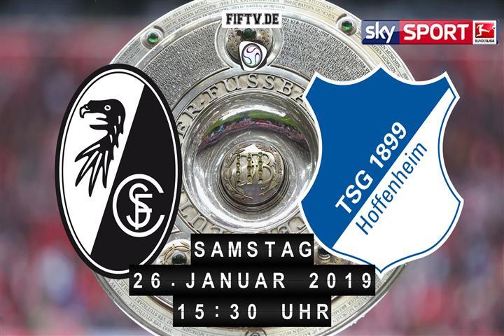SC Freiburg - 1899 Hoffenheim Spielankündigung