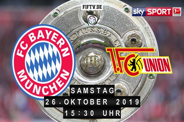 Bayern München - Union Berlin Spielankündigung