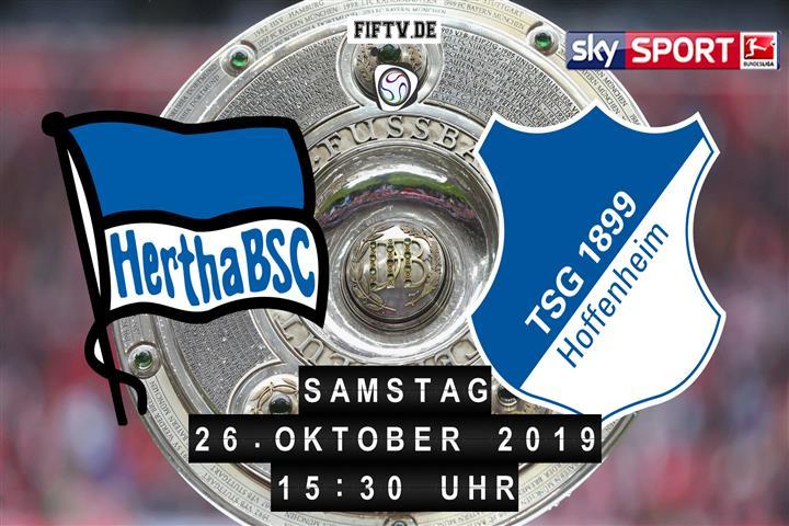 Hertha BSC - 1899 Hoffenheim Spielankündigung
