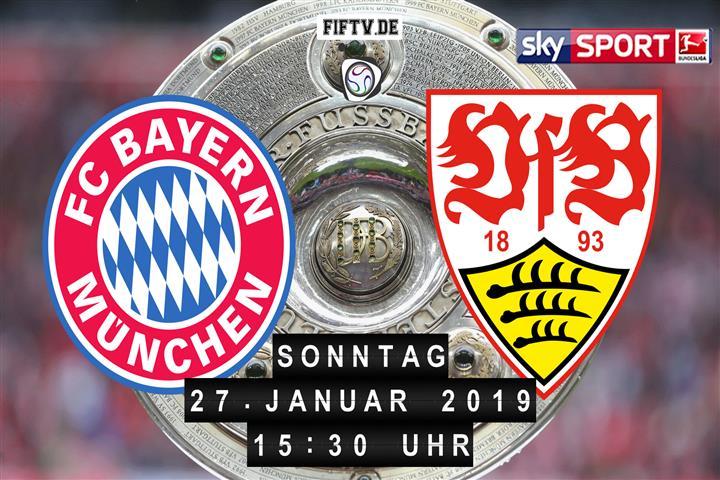 Bayern München - VfB Stuttgart Spielankündigung