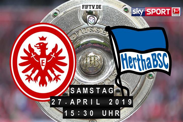 Eintracht Frankfurt - Hertha BSC Spielankündigung