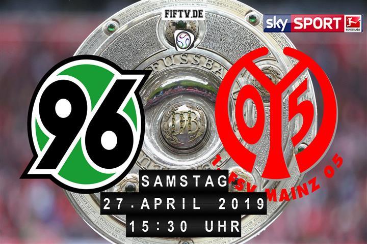 Hannover 96 - FSV Mainz 05 Spielankündigung