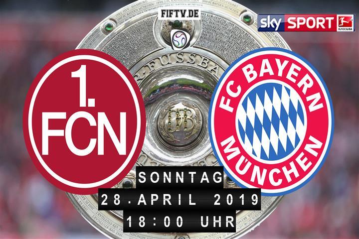 1.FC Nürnberg - Bayern München Spielankündigung