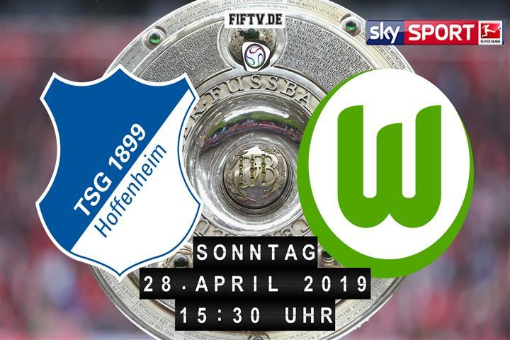 1899 Hoffenheim - VfL Wolfsburg Spielankündigung