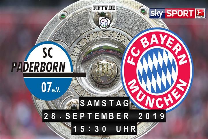 SC Paderborn 07 - Bayern München Spielankündigung