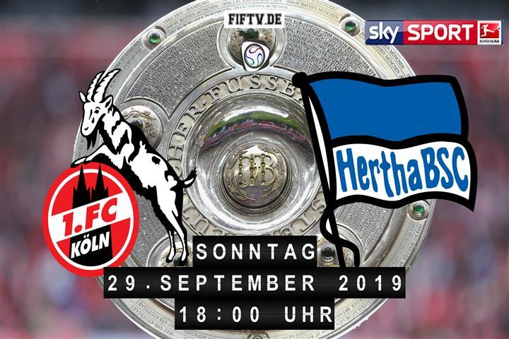 1.FC Köln - Hertha BSC Spielankündigung