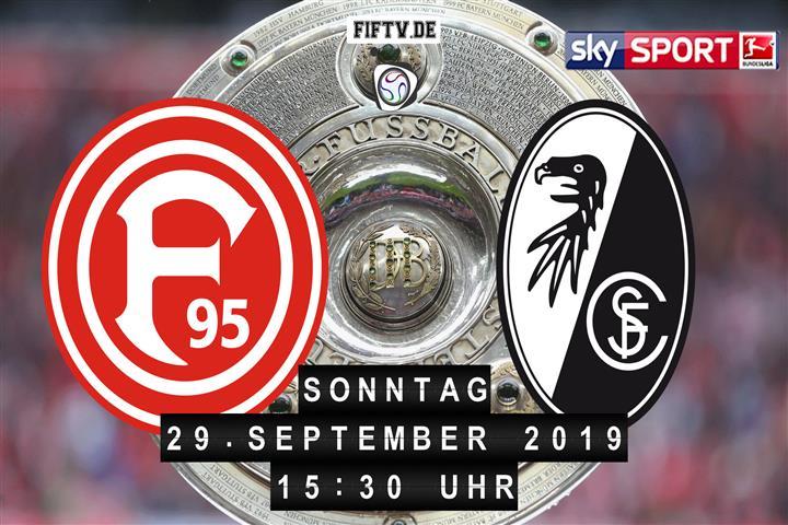 Fortuna Düsseldorf - SC Freiburg Spielankündigung