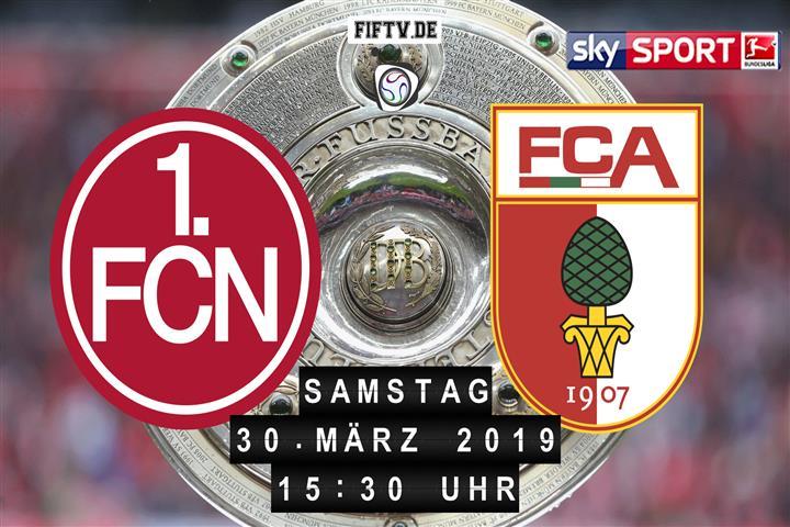 1.FC Nürnberg - FC Augsburg Spielankündigung