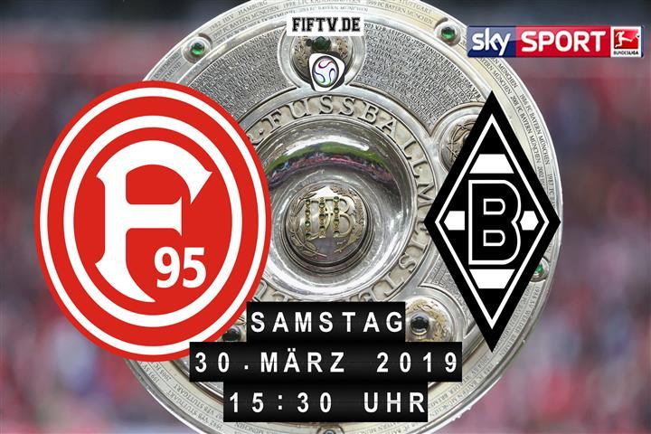 Fortuna Düsseldorf - Borussia Mönchengladbach Spielankündigung