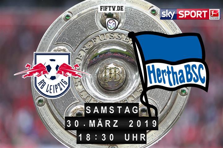 RB Leipzig - Hertha BSC Spielankündigung