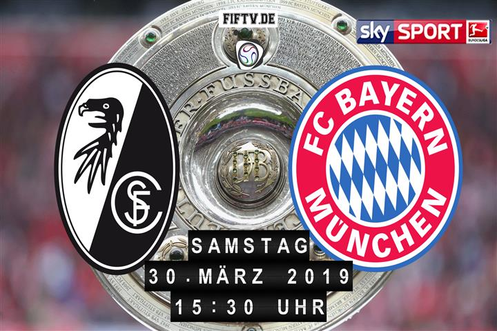 SC Freiburg - Bayern München Spielankündigung