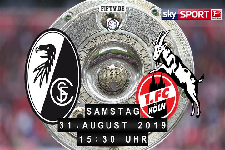 SC Freiburg - 1.FC Köln Spielankündigung