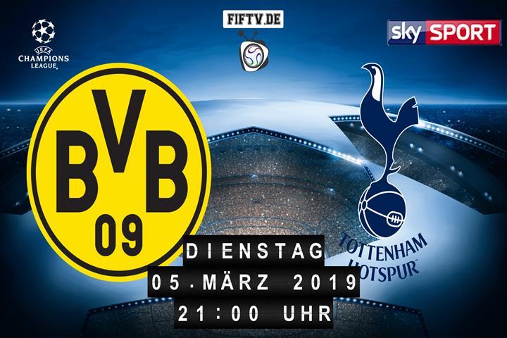 Borussia Dortmund - Tottenham Hotspur Spielankündigung