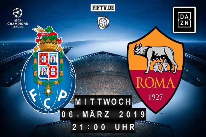 FC Porto - AS Rom Spielankündigung