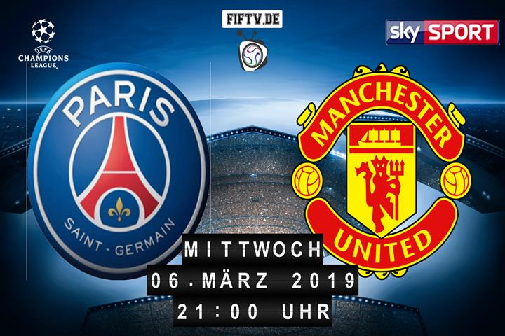 Paris Saint Germain - Manchester United Spielankündigung