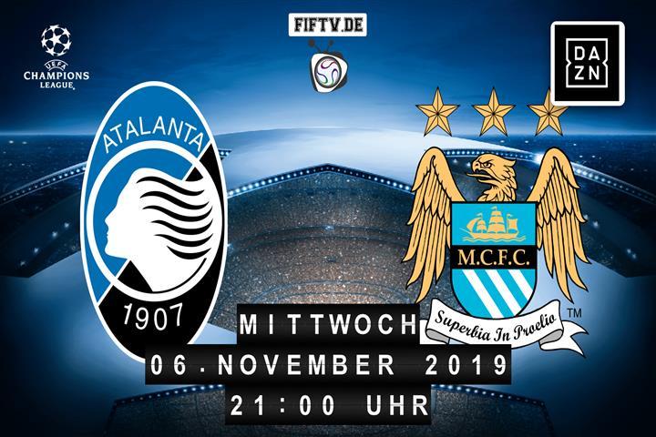 Atalanta Bergamo - Manchester City Spielankündigung