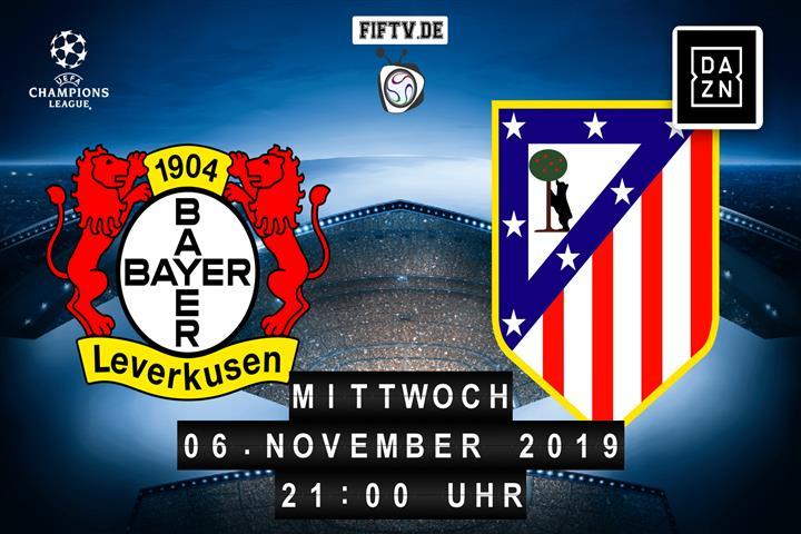 Bayer Leverkusen - Atletico Madrid Spielankündigung