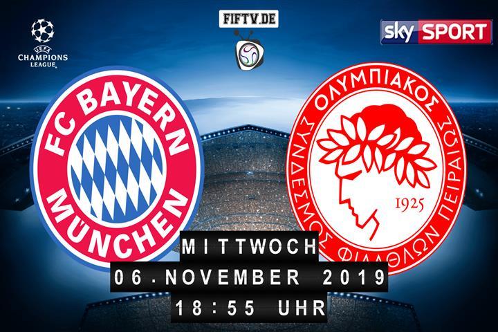 Bayern München - Olympiakos Piräus Spielankündigung
