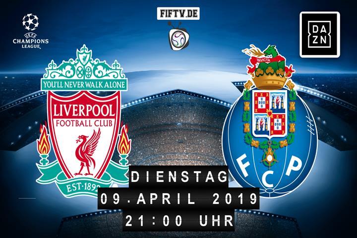 FC Liverpool - FC Porto Spielankündigung