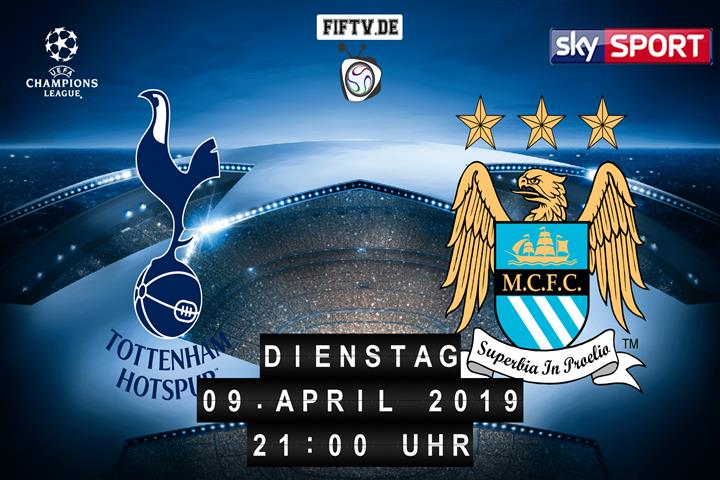 Tottenham Hotspur - Manchester City Spielankündigung