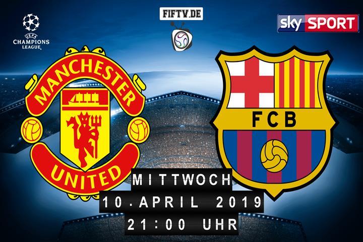 Manchester United - FC Barcelona Spielankündigung