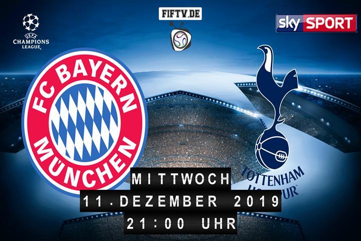 Bayern München - Tottenham Hotspur Spielankündigung