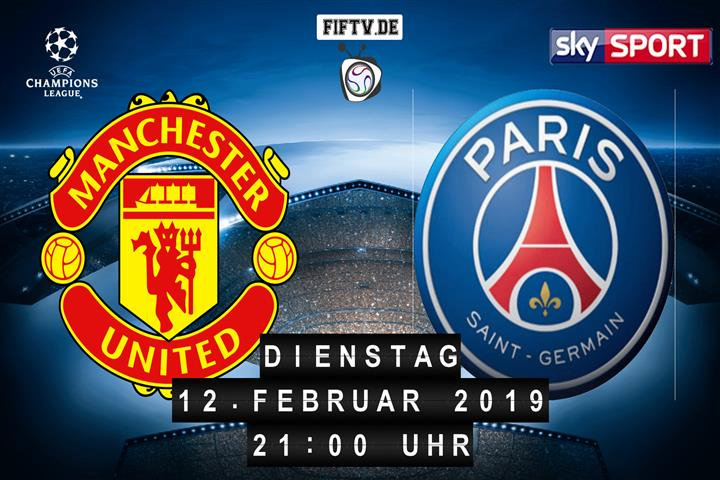 Manchester United - Paris Saint Germain Spielankündigung