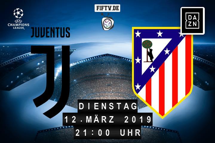Juventus Turin - Atletico Madrid Spielankündigung