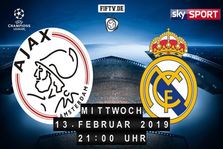 Ajax Amsterdam - Real Madrid Spielankündigung