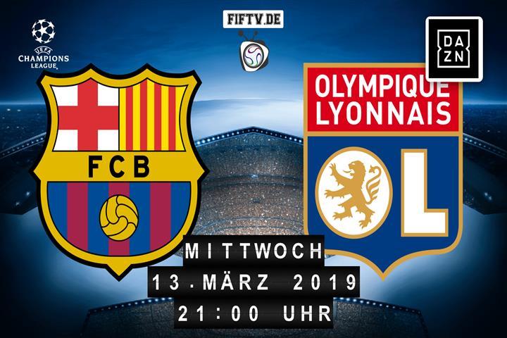 FC Barcelona - Olympique Lyon Spielankündigung