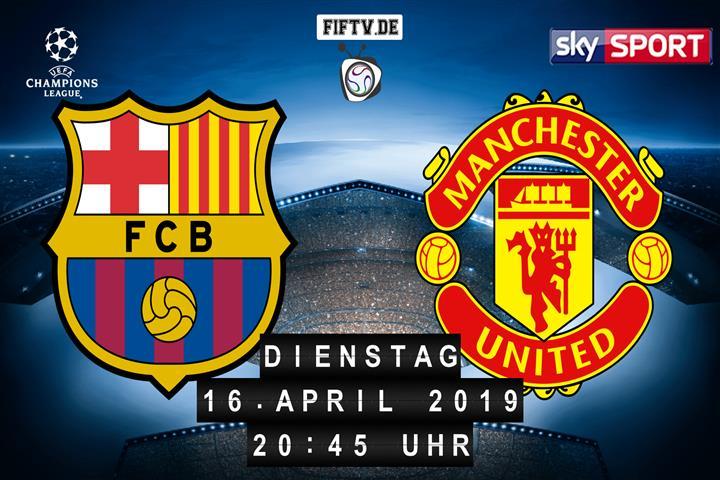FC Barcelona - Manchester United Spielankündigung