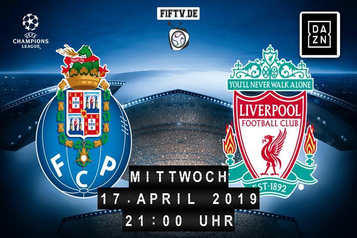 FC Porto - FC Liverpool Spielankündigung
