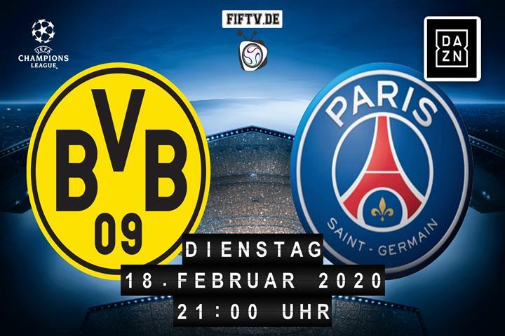 Dortmund Paris Dazn